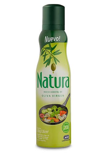 Aceite rocío NATURA Oliva.120gr.