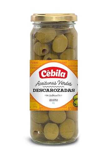 Aceitunas verdes descar.CEBILA Fco.160gr