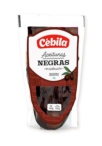 Aceitunas negras CEBILA Sach.180gr