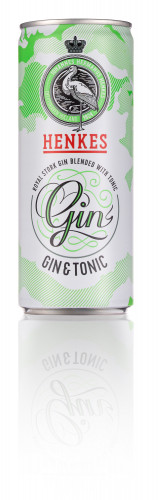 Gin Tonic HENKES Lata 250ml